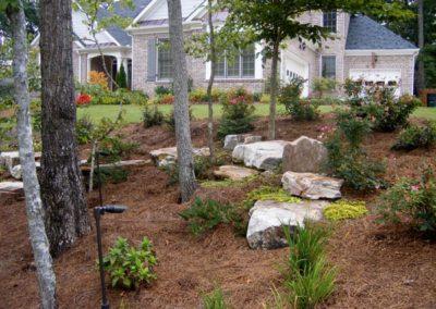 Backyard Landscape Grading - Atlanta Bobcat Service
