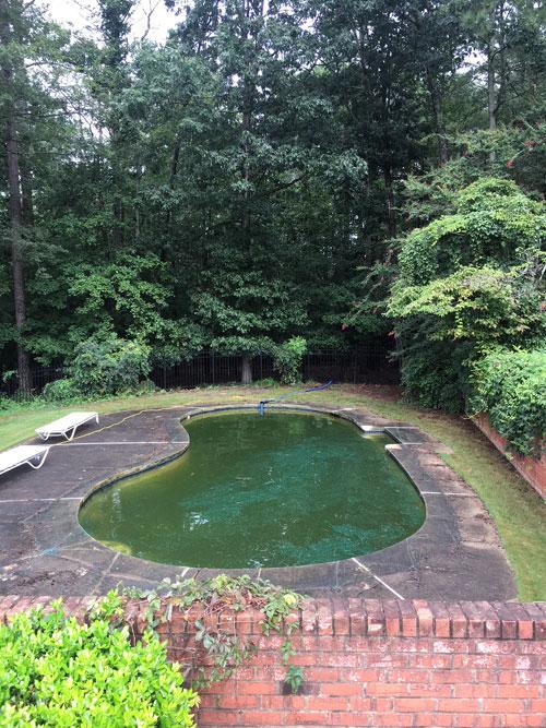 Swimming Pool Demolition | Atlanta Bobcat Service