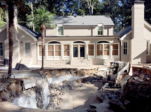 Swimming Pool Demolition & Removal in Atlanta GA